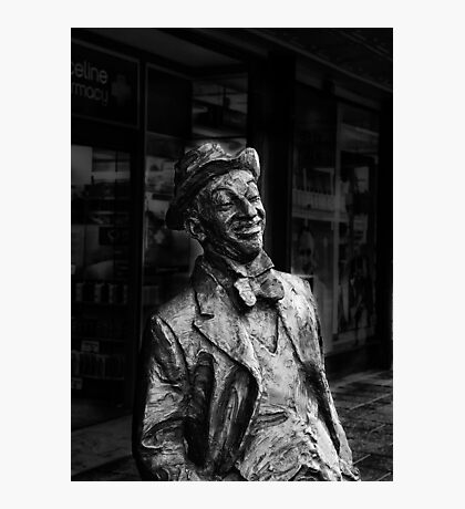 Roy Rene Mo sculpture  Photographic Print