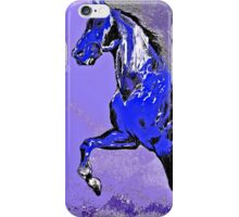 Horse:  Majestic Stallion Abstract iPhone Case/Skin
