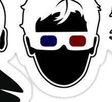 The Doctors Three sticker Sticker