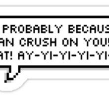 Lesbian Crush Sticker
