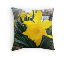 A Bright Morning Throw Pillow
