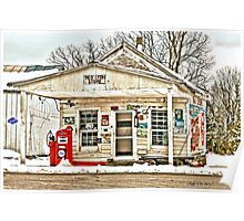 Old Country Store 2 (HDR) Poster