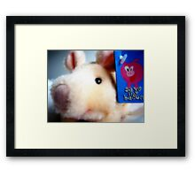 Save my Bacon Framed Print