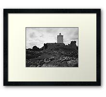 Doe Castle Framed Print