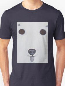 Polar Bear eating icecream. T-Shirt