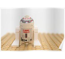 Star wars action figure R2D2 robot Poster