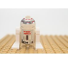 Star wars action figure R2D2 robot Photographic Print
