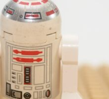 Star wars action figure R2D2 robot Sticker