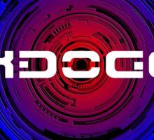 Maxdoggy Gaming - White Text v2! Sticker