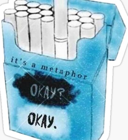 It's a Metaphor Sticker