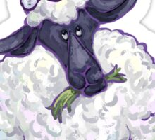 Sheep Christmas Sticker