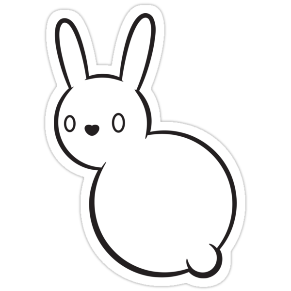 Fuzzbutt the bunny by Noth