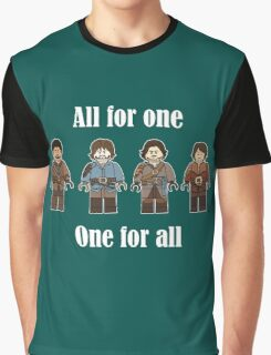 Musketeers Oath Graphic T-Shirt