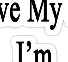Why Wouldn't I Love My Job? I'm A Trombonist  Sticker