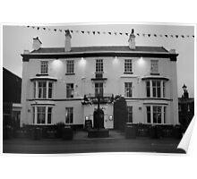'Queens Hotel' Lytham Poster