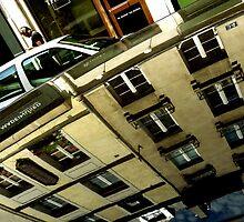 Random 'Hood of a Car' Reflections: PARIS by Michael J Armijo