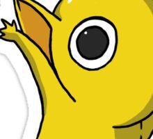 Yellow Jumping Pikmin Sticker