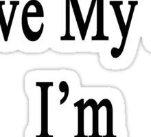 Why Wouldn't I Love My Job? I'm A Bagpiper  Sticker
