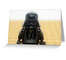 Star wars action figure Darth Vader  Greeting Card