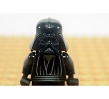 Star wars action figure Darth Vader  Photographic Print