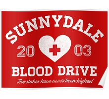 Sunnydale Blood Drive Poster