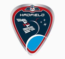 Expedition 34 - Hadfield's Personal Patch Women's Fitted Scoop T-Shirt