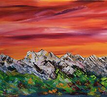 Mountain Bliss by James Bryron Love