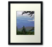 The Far Hills Framed Print