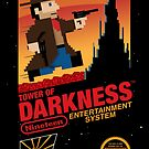 Tower of Darkness (STICKER) by mikehandyart