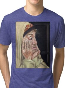 What comes next? Tri-blend T-Shirt