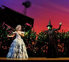 Jemma Rix and Lucy Durack in Wicked (Horizontal) by lovewhileyoucan
