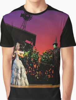 Jemma Rix and Lucy Durack in Wicked (Horizontal) Graphic T-Shirt
