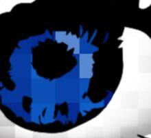 Square Eyes Sticker