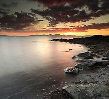 Jura Sunset by Grant Glendinning
