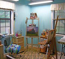 My Artistic Sanctuary by Vivian Eagleson
