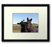 I'M SO POPULAR! Framed Print
