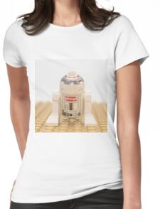 Star wars action figure R2D2 robot Womens Fitted T-Shirt