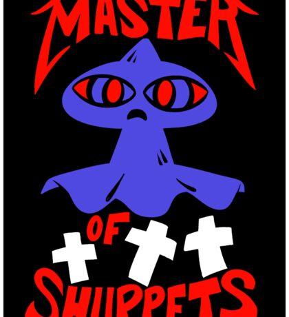 Master of Shuppets Sticker Sticker