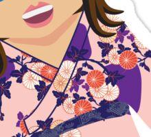 Ja'mie #6 (Private School Girl)  Sticker