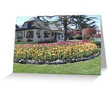 House of Tulips Greeting Card