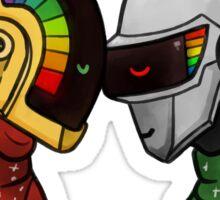 Dumb Gay Robots Sticker