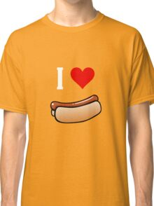 I love hot dogs Classic T-Shirt