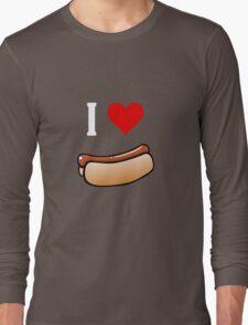 I love hot dogs Long Sleeve T-Shirt