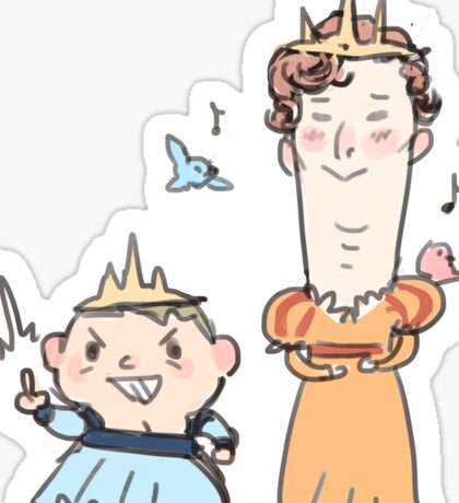 Pretty Princesses Sticker