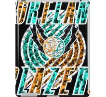BLAZERS BLACK iPad Case/Skin