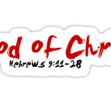 Blood of Christ Sticker