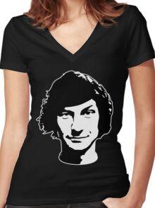 Gotye (Dark) Women's Fitted V-Neck T-Shirt