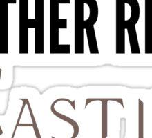 My Other Ride Is - Castiel Sticker