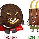 Thoreo & Lokit-Kat by derlaine