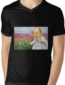 A Flower in Disguise Mens V-Neck T-Shirt